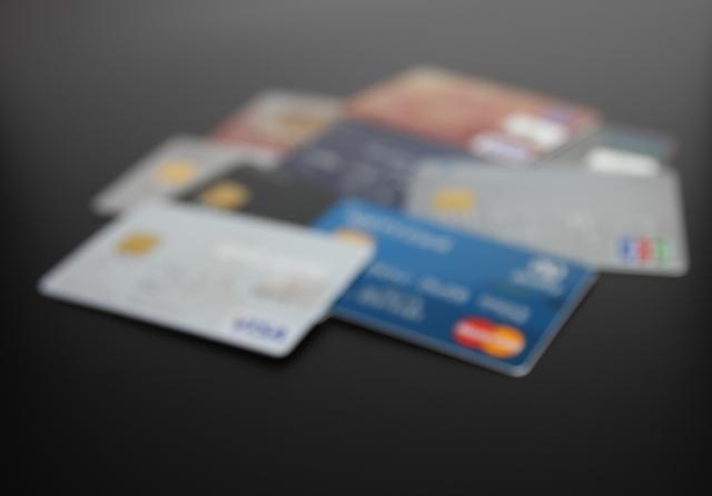 年賀状 クレジットカード