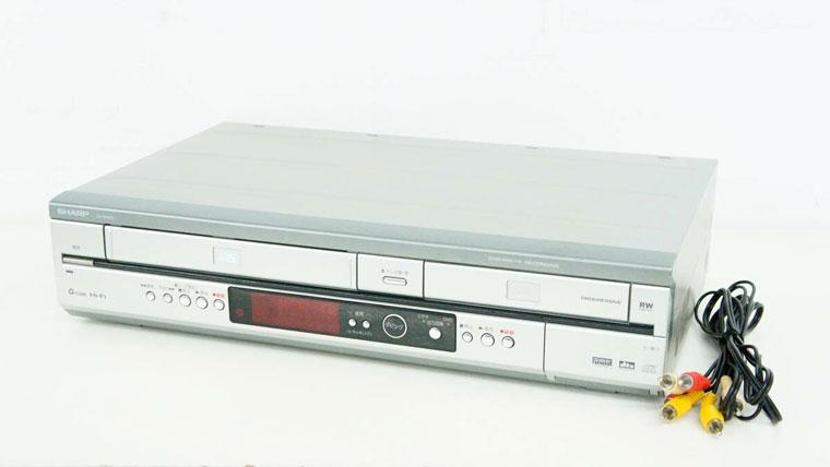 VHS・DVD一体型レコーダー
